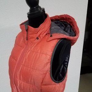 Tangerine Jackets & Coats - Fall/Winter Vest w/zippered hood